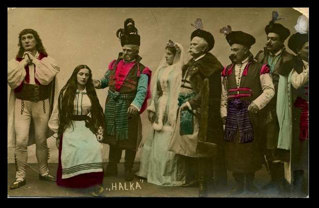 Scena zbiorowa z Halki