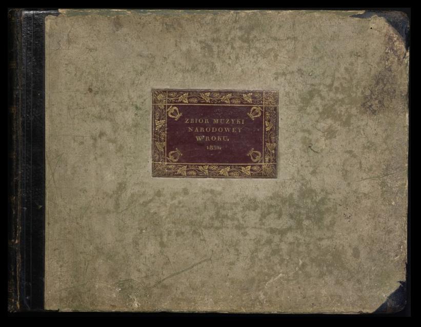 Zbior Muzyki Narodowey w roku 1831