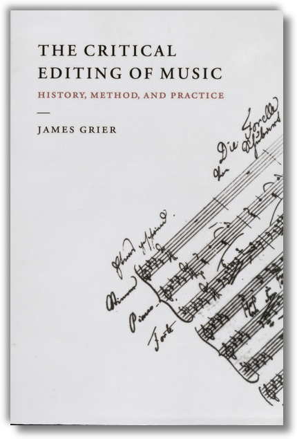 Grier - Critical Editing of Music